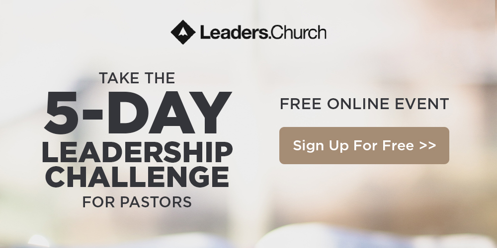 5-Day Leadership Challenge for Pastors to Grow the Ministry